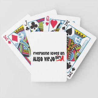Cada uno ama a un chica de Aliso Viejo Cartas De Juego