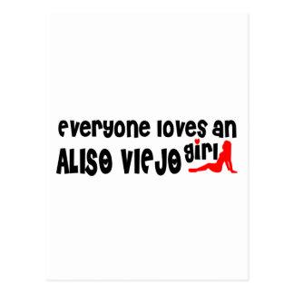 Cada uno ama a un chica de Aliso Viejo Postal