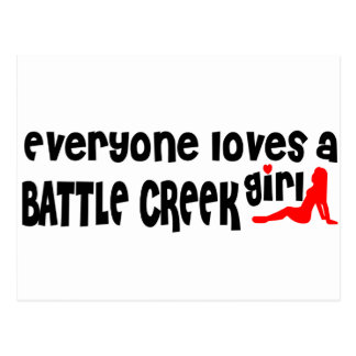 Cada uno ama a un chica de Battle Creek Postal