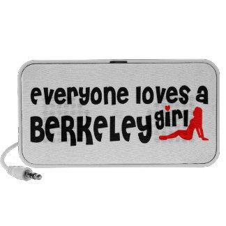 Cada uno ama a un chica de Berkeley Portátil Altavoz
