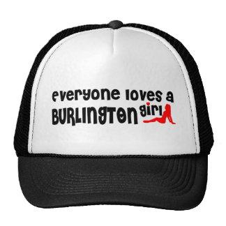 Cada uno ama a un chica de Burlington Gorra