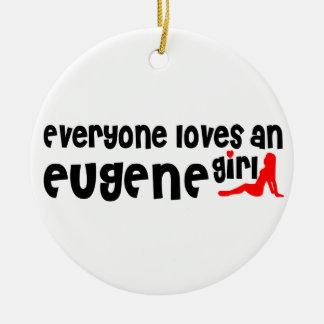Cada uno ama a un chica de Eugene Adorno Redondo De Cerámica
