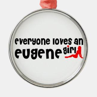 Cada uno ama a un chica de Eugene Adorno Redondo Plateado