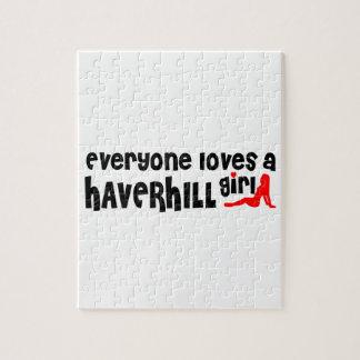 Cada uno ama a un chica de Haverhill Rompecabezas