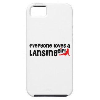 Cada uno ama a un chica de Lansing Funda Para iPhone 5 Tough