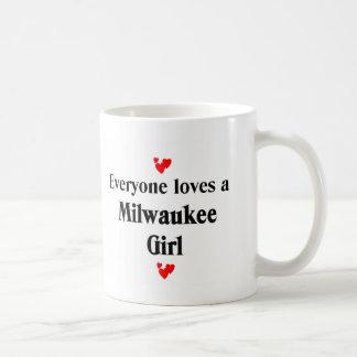 Cada uno ama a un chica de Milwaukee Taza Clásica