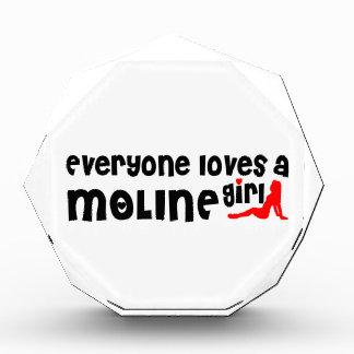 Cada uno ama a un chica de Moline