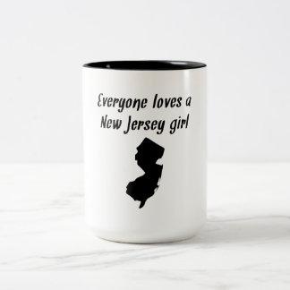 Cada uno ama a un chica de New Jersey Taza De Café