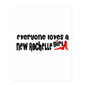Cada uno ama a un chica de New Rochelle Postales