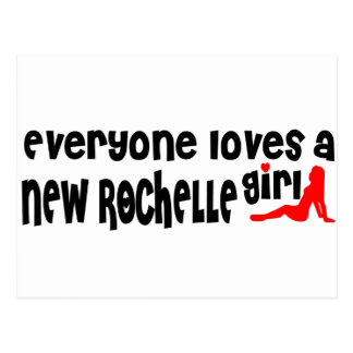 Cada uno ama a un chica de New Rochelle Tarjetas Postales