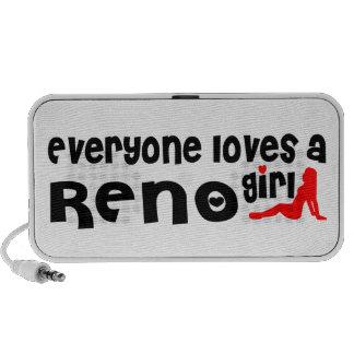 Cada uno ama a un chica de Reno Laptop Altavoces