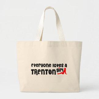 Cada uno ama a un chica de Trenton Bolsa Tela Grande