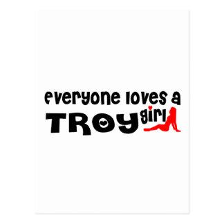 Cada uno ama a un chica de Troy NY Postal