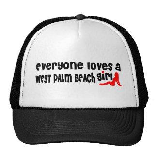 Cada uno ama a un chica de West Palm Beach Gorros Bordados