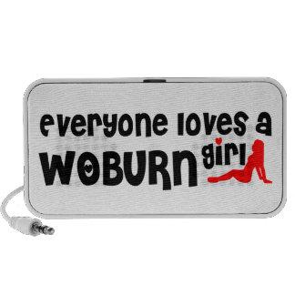 Cada uno ama a un chica de Woburn iPhone Altavoces