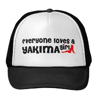 Cada uno ama a un chica de Yakima Gorra