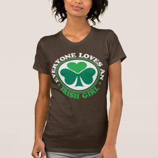 Cada uno ama a un chica irlandés - blanco camiseta
