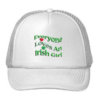 Cada uno ama a un chica irlandés gorro de camionero