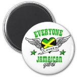 Cada uno ama a un chica jamaicano iman