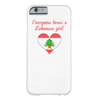 Cada uno ama a un chica libanés funda barely there iPhone 6