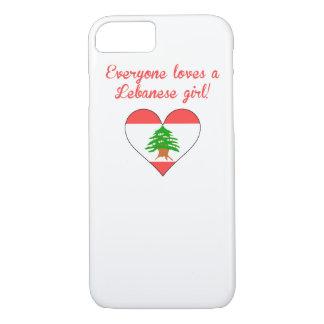 Cada uno ama a un chica libanés funda iPhone 7