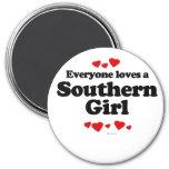 Cada uno ama a un chica meridional imanes para frigoríficos