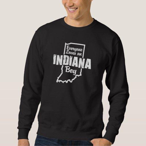 Cada uno ama a un muchacho de Indiana Sudadera