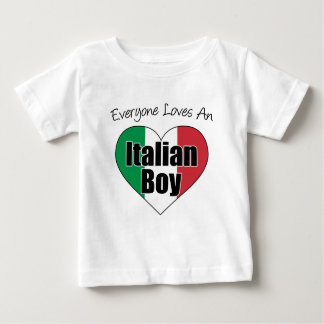 Cada uno ama al muchacho italiano playeras