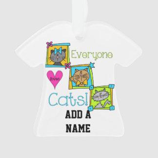 Cada uno ama gatos
