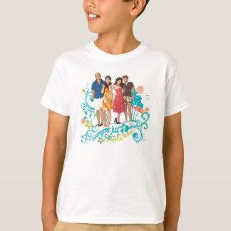 Cada uno apenas canta y practica surf camisas