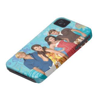 Cada uno apenas canta y practica surf iPhone 4 Case-Mate cárcasas