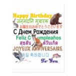Cada uno cumpleaños tarjetas postales