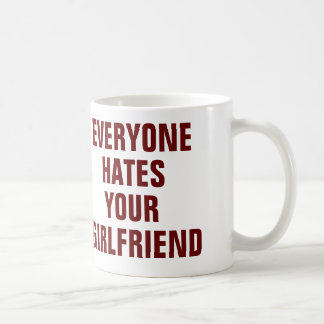 Cada uno odia su taza de la novia