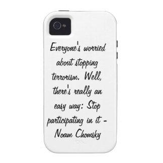 Cada uno preocupante de parar terrorismo… Case-Mate iPhone 4 carcasas