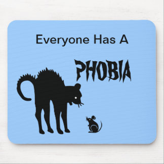 Cada uno tiene una fobia tapete de raton