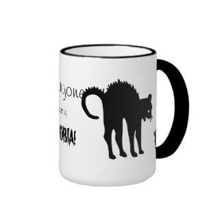Cada uno tiene una fobia taza de café
