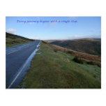 Cada viaje comienza con un solo paso postales