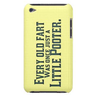Cada viejo Fart era una vez apenas un pequeño Case-Mate iPod Touch Carcasas