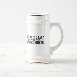 Cada viejo Fart era una vez apenas un pequeño Jarra De Cerveza