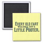 Cada viejo Fart era una vez apenas un pequeño Poot Iman De Nevera