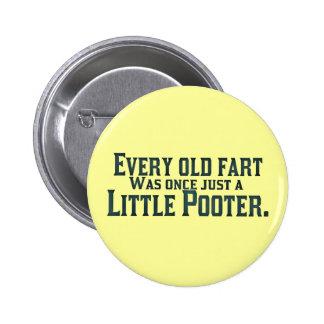 Cada viejo Fart era una vez apenas un pequeño Poot Pins
