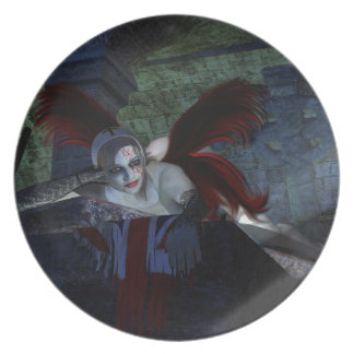 Cadáver de Halloween Platos