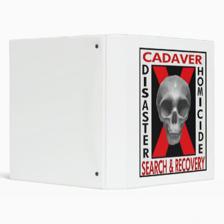 Cadaver Search & Recovery Binder