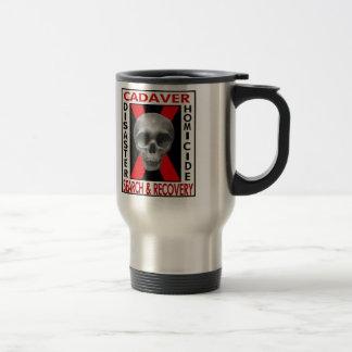 Cadaver Search & Recovery Travel Mug