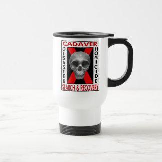 Cadaver Search & Recovery  (White) Travel Mug