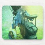 Caddie de golf Mousepad Tapete De Raton