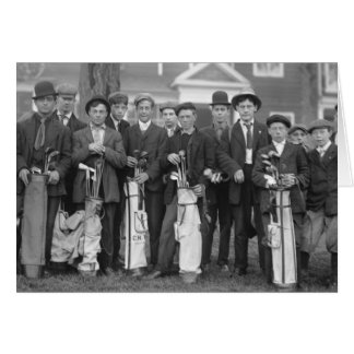 Caddies de Baltusrol, 1900s tempranos Felicitación