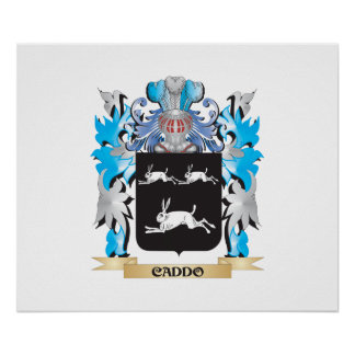 Caddo Coat of Arms - Family Crest Poster