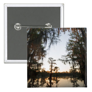 Caddo Lake at sunrise Button