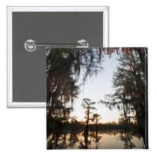 Caddo Lake at sunrise Button